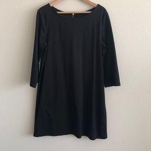 EUC H&M Black A-Line Sheath Dress SZ Large